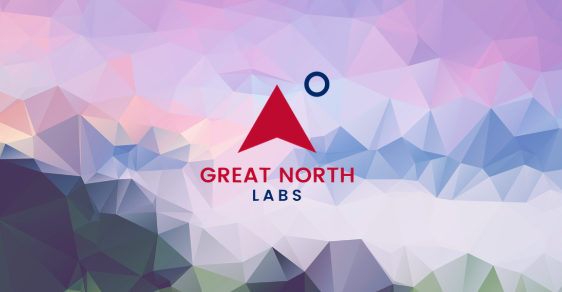 Original Great North Labs banner and logo